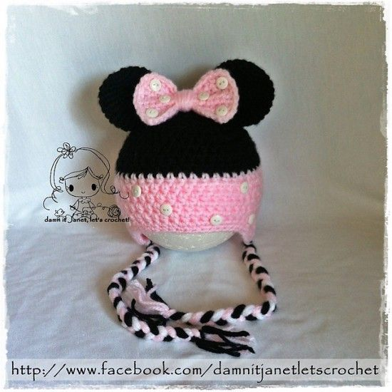 Mickey And Minnie Mouse Crochet Patterns | Crochet patterns, Free ...