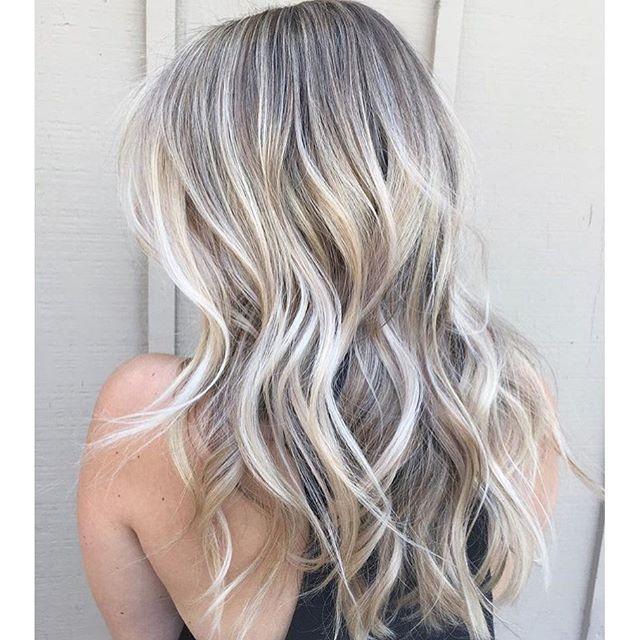 Blonde Babylights More Hair Styles Ash Blonde Hair Balayage Hair
