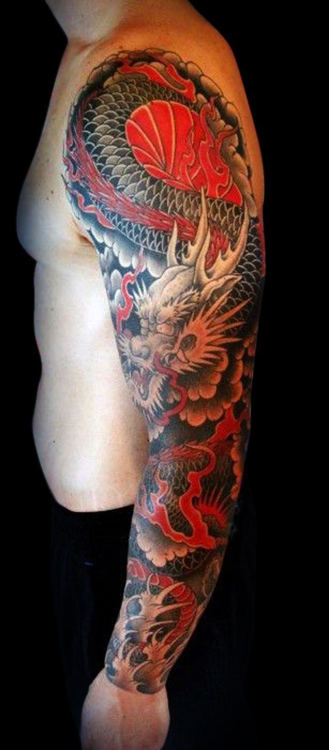 Pin by Rosita Serrano on Tattoos | Pinterest | Tattoo, Dragon sleeve ...