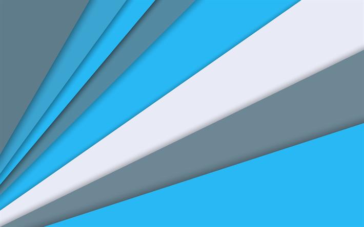 Descargar Fondos De Pantalla Android, Azul Y Gris, Diseño