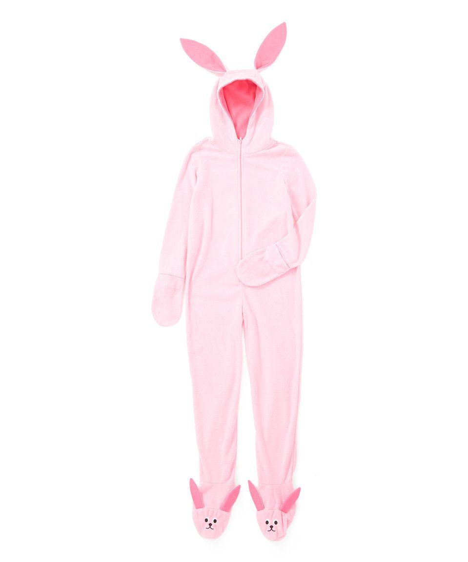 take a look at this a christmas story pink bunny hooded pajamas kids today