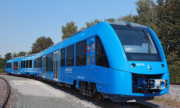 Icymi worlds first hydrogen fuel cell train tours across