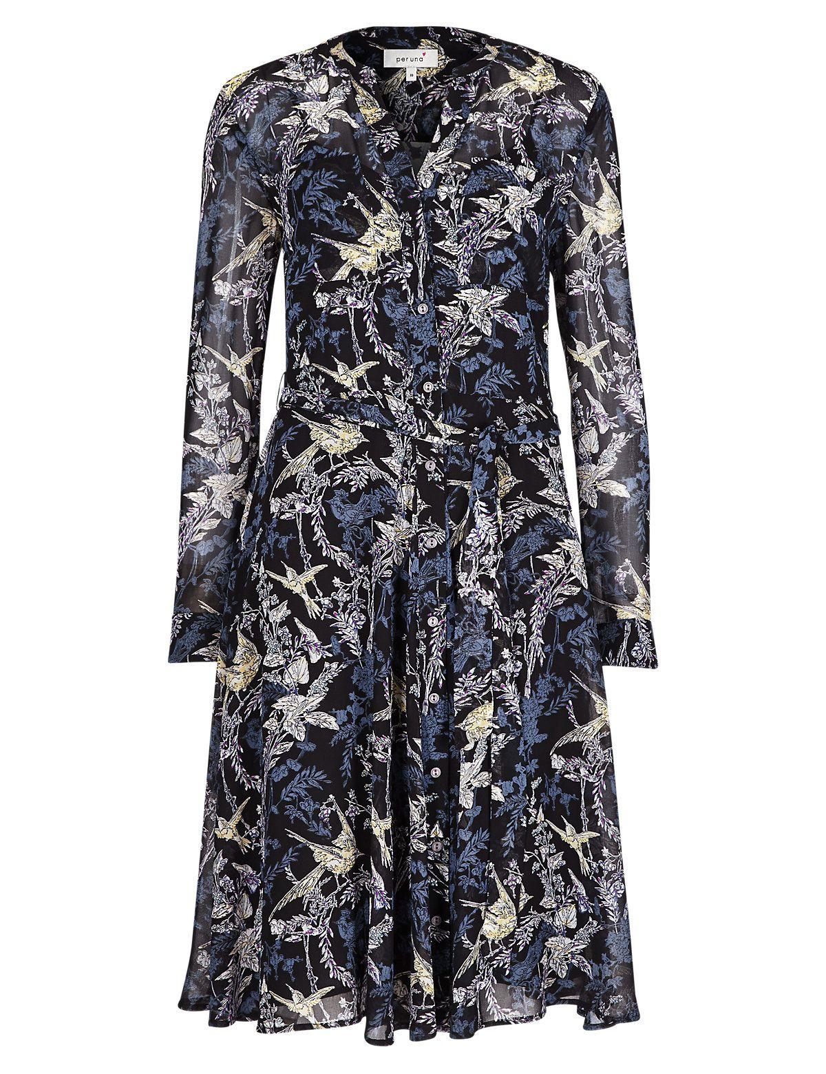 per una navy dress flower with tie waist - Google Search   Dresses ...