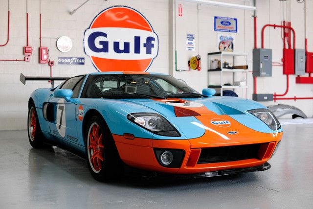 Used Ford Gt For Sale Cargurus Ford Gt Ford Racing Gulf Racing