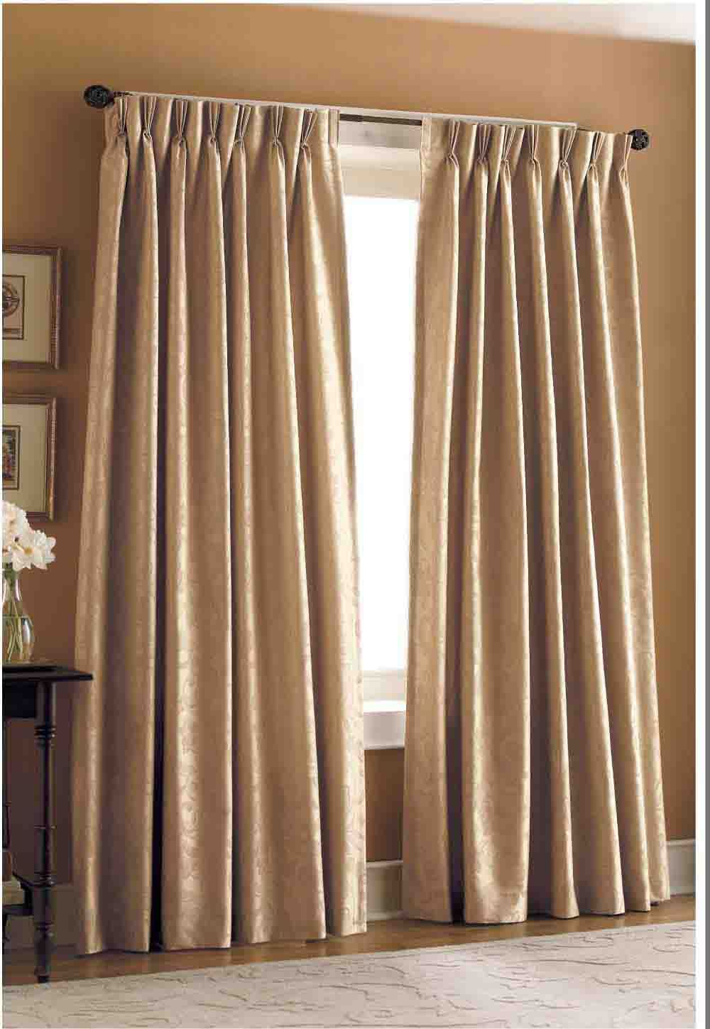 See full size image | certain touch | Pinterest | Pleated curtains ...