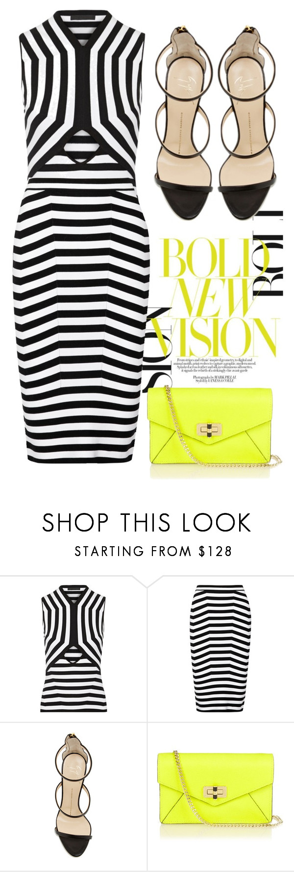 """Bold New Vision"" by cherieaustin on Polyvore featuring Alexander Wang, Giuseppe Zanotti, Diane Von Furstenberg, AlexanderWang, DVF, DianeVonFurstenberg and GiuseppeZanotti"