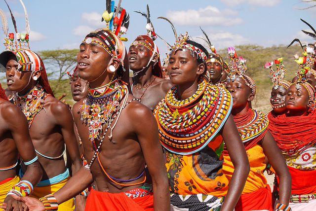 Samburu and Masai people