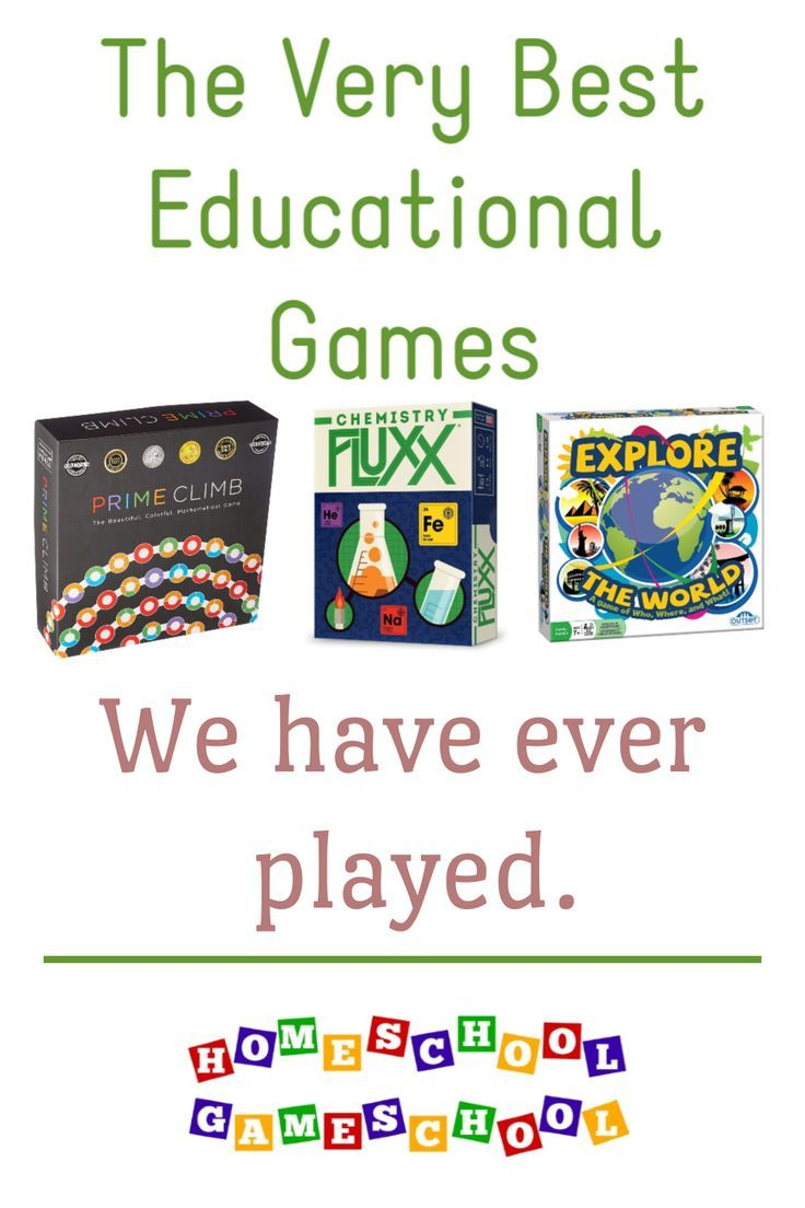 (Some of) The Best Educational Games We've Played