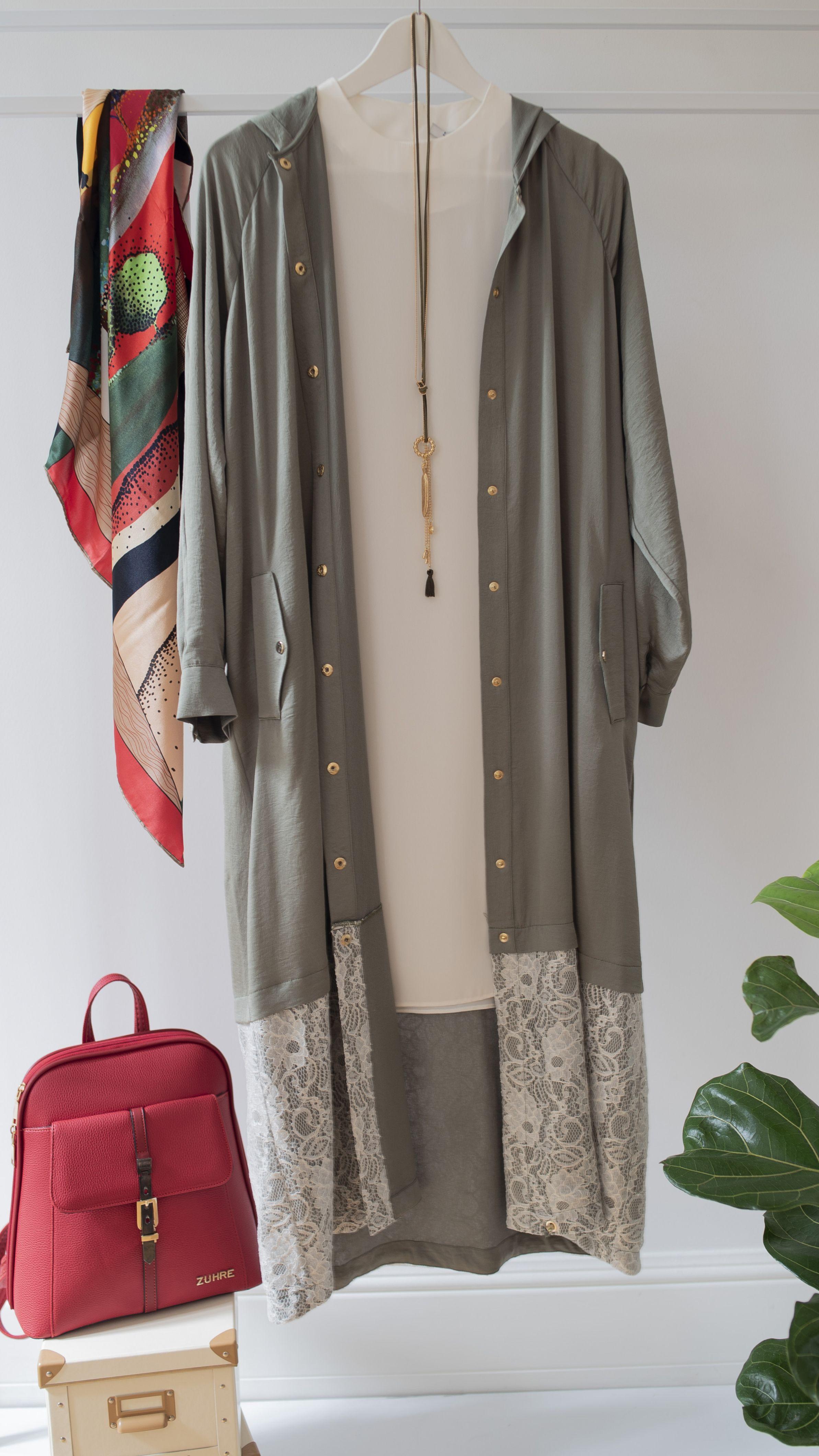 Modest New Fashion Spring Zuhre Urunler Manto