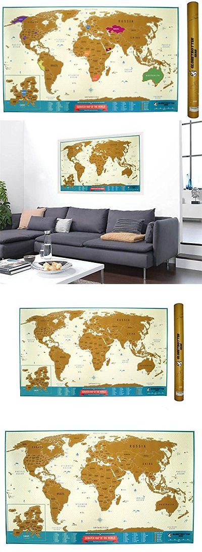 Other travel maps 164807 scratch off world map travel tracker other travel maps 164807 scratch off world map travel tracker europe close up gumiabroncs Gallery