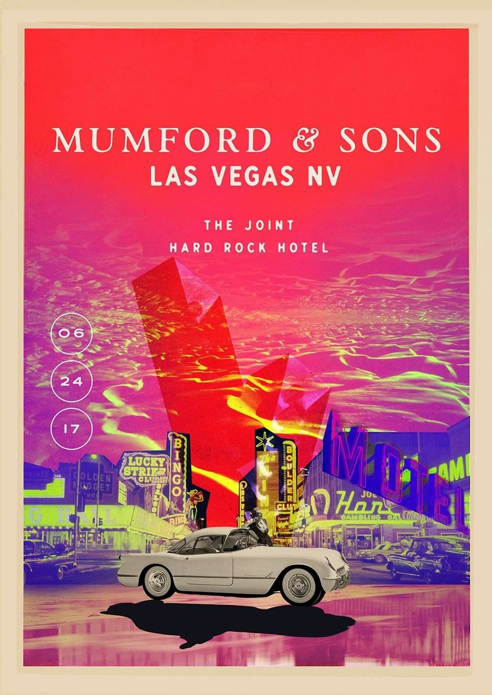 Mumford & Sons Las Vegas 2017