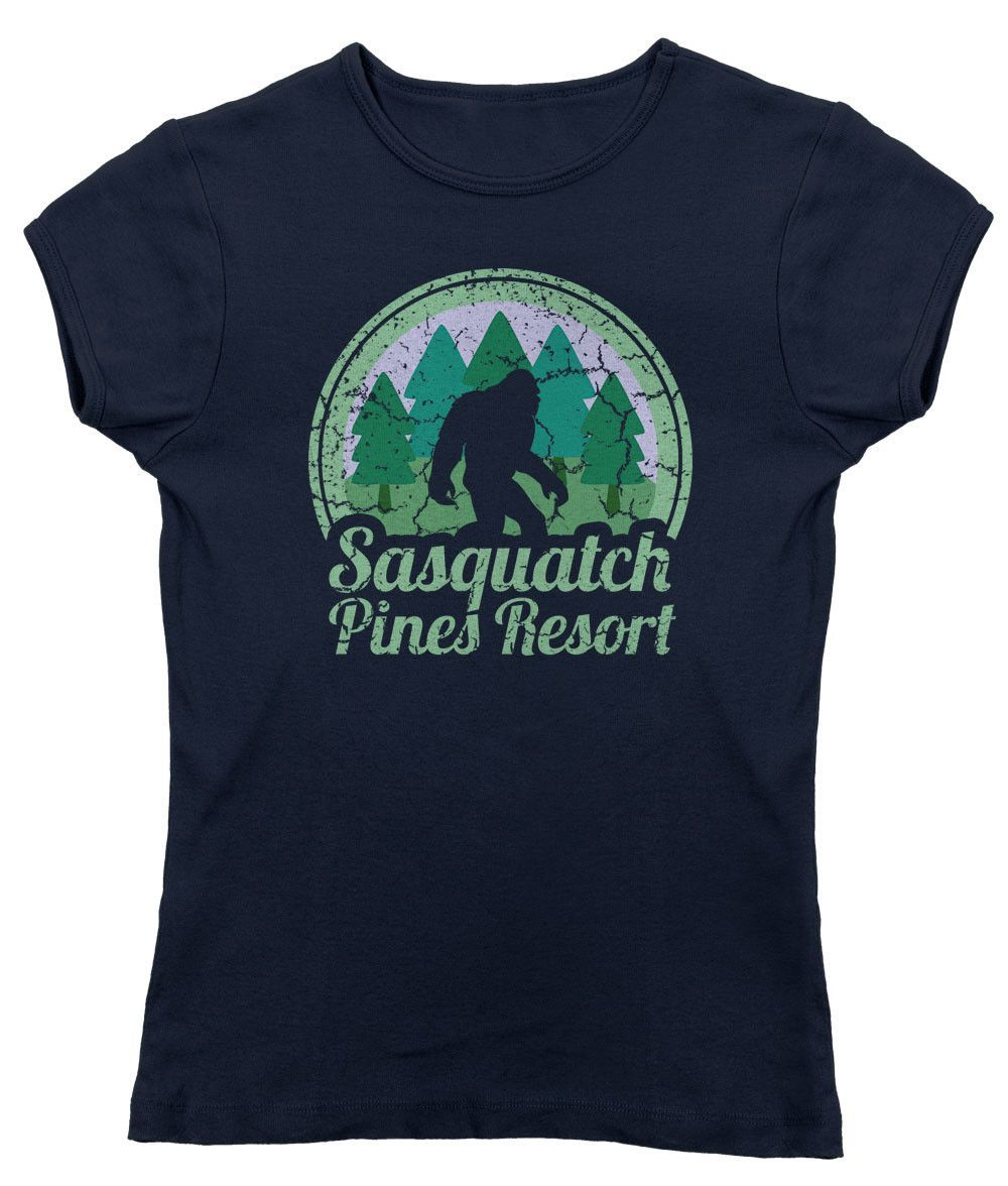 Women's Sasquatch Pines Resort T-Shirt - Juniors Fit