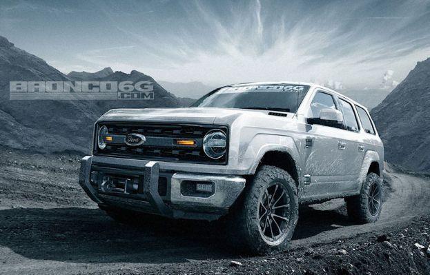 2020 Ford Bronco Price 4 Door Concept Rendering Interior