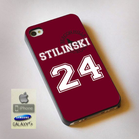 Teen Wolf Stilinski Lacrosse Jersey  Print on by TrafficLights, $15.89