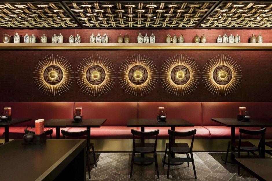 Restaurants With Striking Ceiling Designs Dizajn Interera