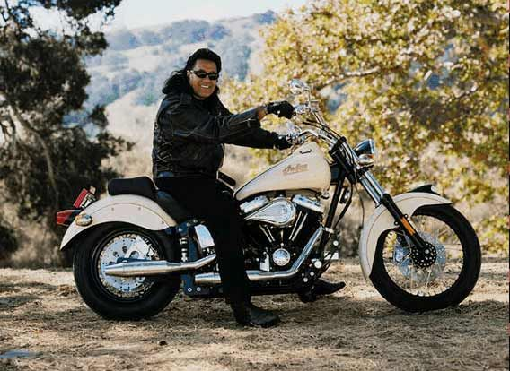 Branscombe Richmond Celebs On Their Motorcycles Indian Motorcycle Motorcycle Native American Actor