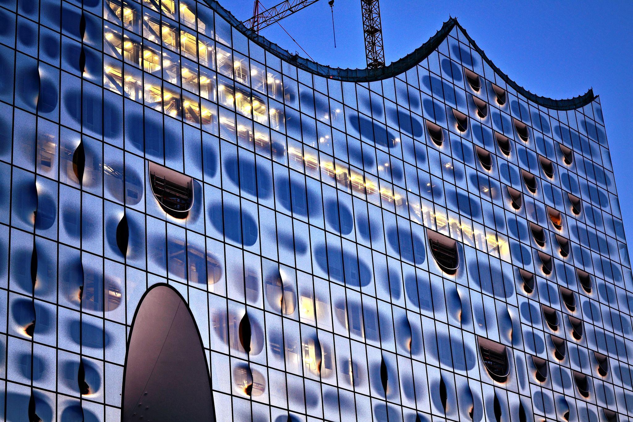 Elbphilharmonie Hamburg Deutschland Hamburg Festbrennweite