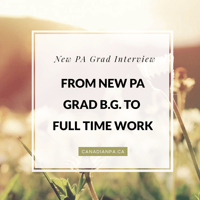 New PA Grad BG discusses finding work thru Career Start