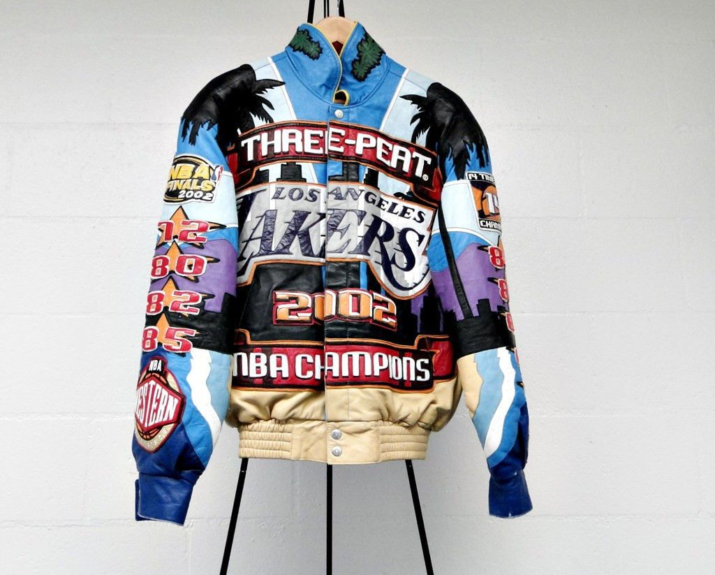 Jeff Hamilton Nba Leather Jacket