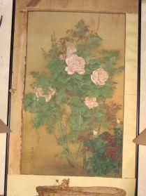 KAKEMONO-japanse zijdeschildering, te koop bij briekantiek.nl