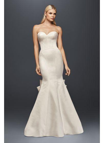 53747a1957a25 Truly Zac Posen Seamed Satin Wedding Dress ZP341718 | Wedding ...