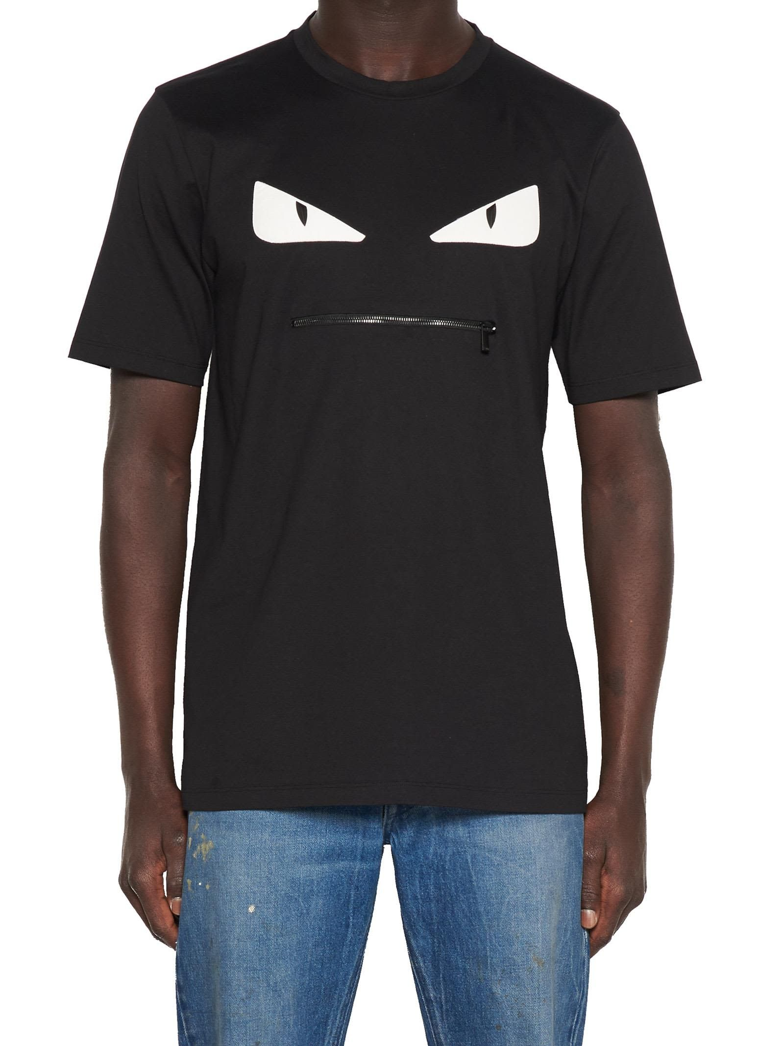 85fd1c45 FENDI MONSTER EYES T-SHIRT. #fendi #cloth # | Fendi | Fendi, Mens ...