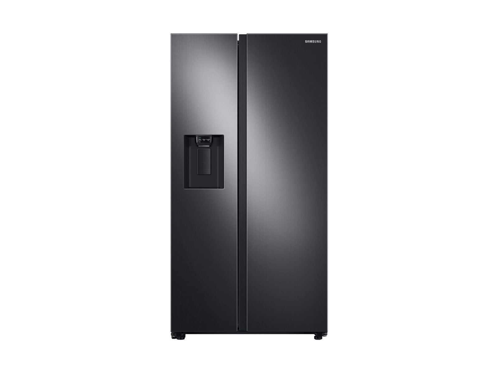 Side By Side Refrigerator With Ice Maker Rs22t5201sg Samsung Us In 2020 Stainless Steel Fridge Samsung Fridge Glass Shower Enclosures