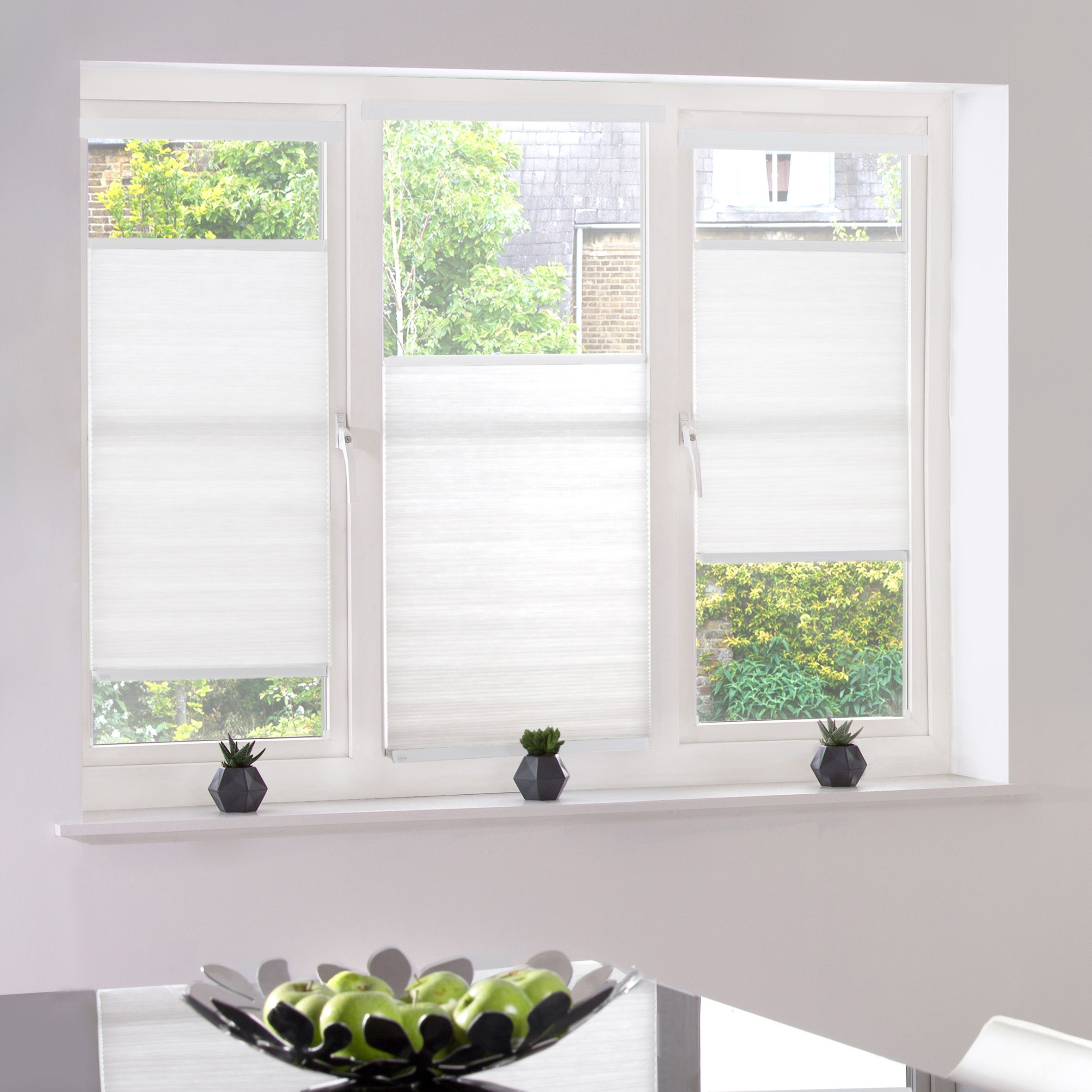 Kitchen window kitchen blinds  style studio hive deluxe blinds in dove kitchen blinds hive blinds