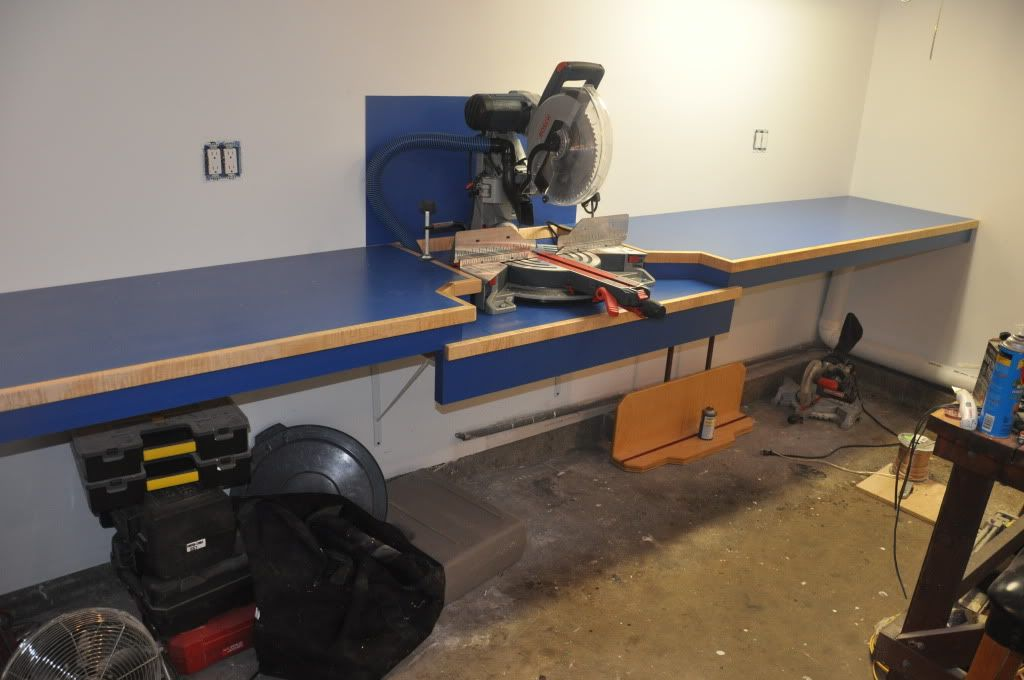 new yankee workshop radial arm saw. ultimate miter saw counter with dust collection.bosch gcm12sd - by pbjguy @ lumberjocks. new yankee workshop radial arm