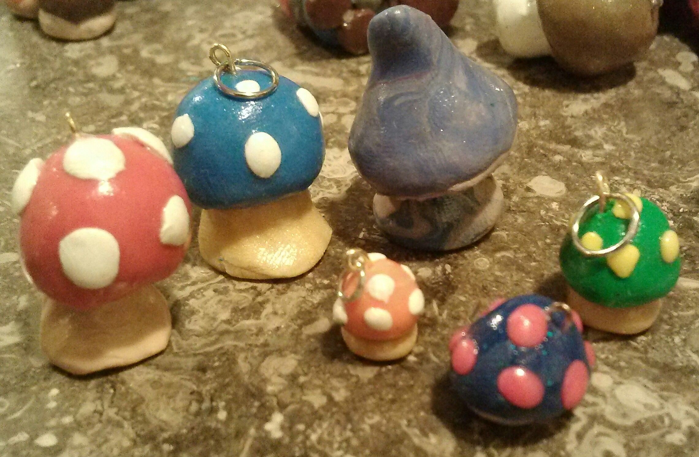Fimo clay projects