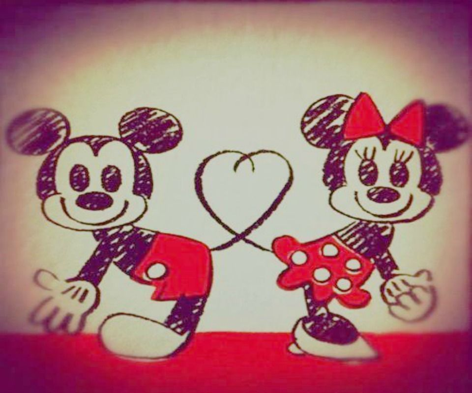 Wallpaper a Disney a Disney Minnie Mouse Red Bow Wallpaper