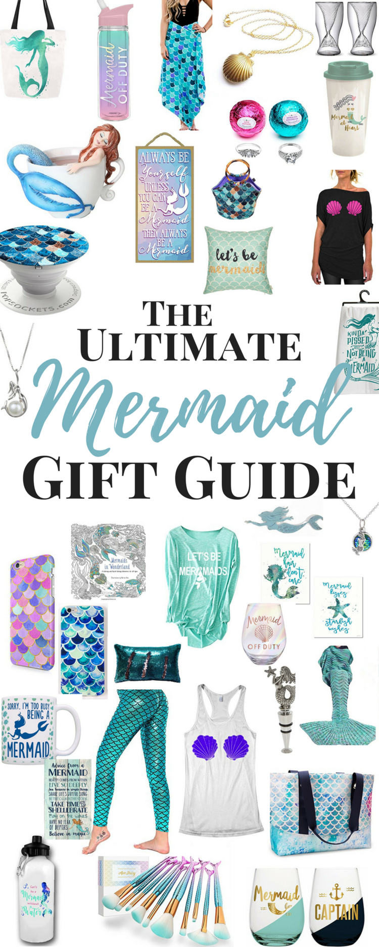Holiday Gift Guides With Images Mermaid Gifts Little Mermaid