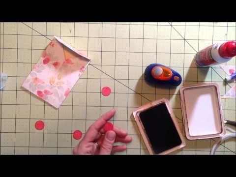 Coin Envelopes using Envelope Punch Board