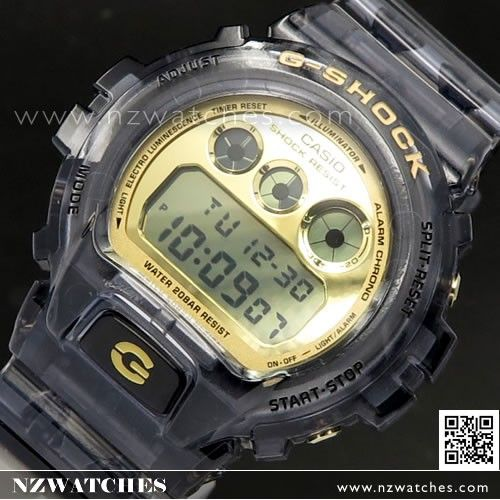 Casio G-Shock Semi Transparent 200M Sport Watch DW-6900FG-8 70bd3d890