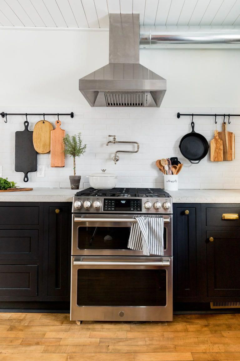 no upper cabinets give this kitchen a clean airy feel modern kitchen renovation rustic on farmhouse kitchen no upper cabinets id=31605