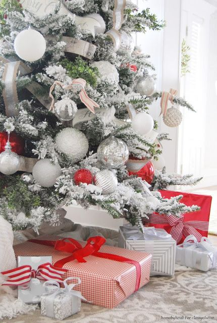 8 Tips For A Beautiful Christmas Tree Classy Clutter Christmas Open House Christmas Tree Inspiration Christmas Inspiration