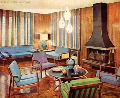 1960s Decorating Style Favorite Room Designs Mid