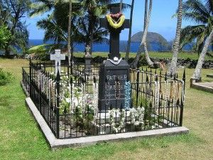 Shrine of Father Damien in Molokai, Hawaii Father Damien was a 19th century who was known for working with lepers. Find out more here: http://thecompletepilgrim.com/shrine-father-damien/