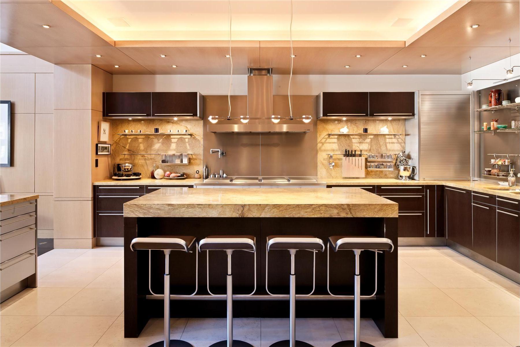 orange bar stools - Google Search | Dream kitchens design, Luxury kitchen  design, Kitchen remodel