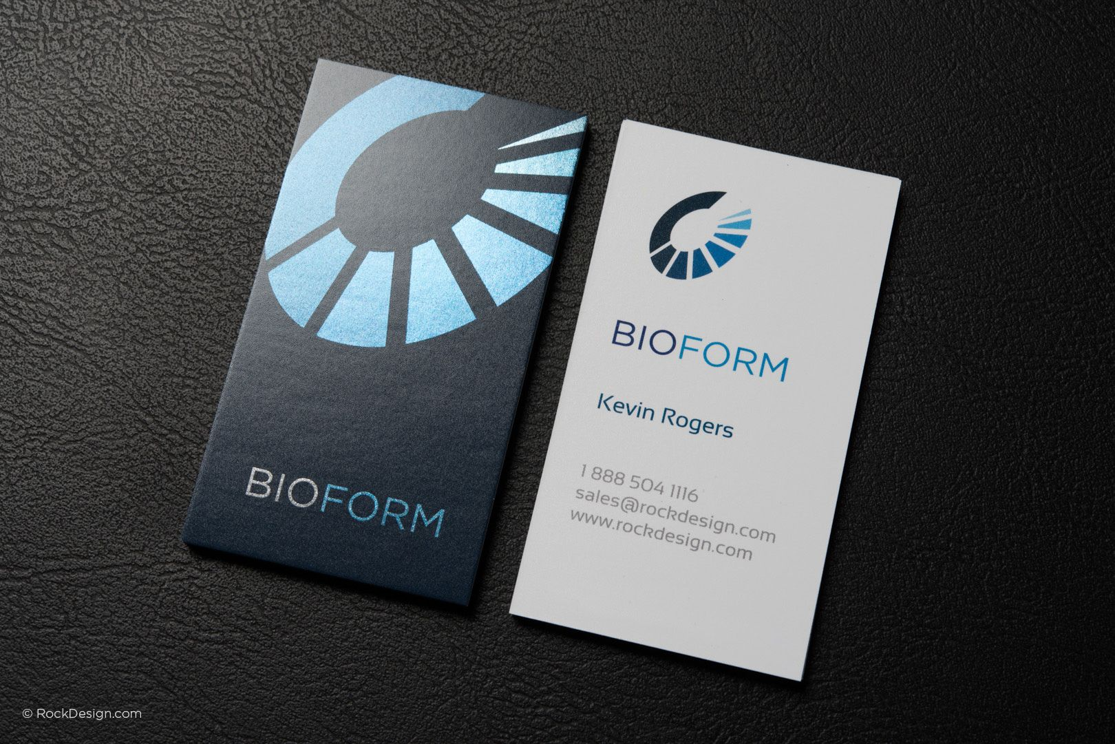 Diamond modern shiny look business card template - Bioform ...