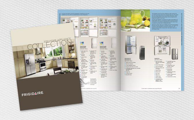 Catalog Design Frigidaire Full Line Of Home Appliances
