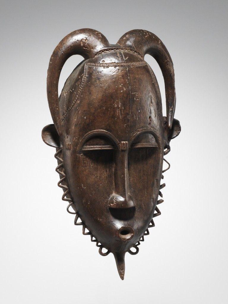 Maske - 28 cm. Ethnie  Yaure