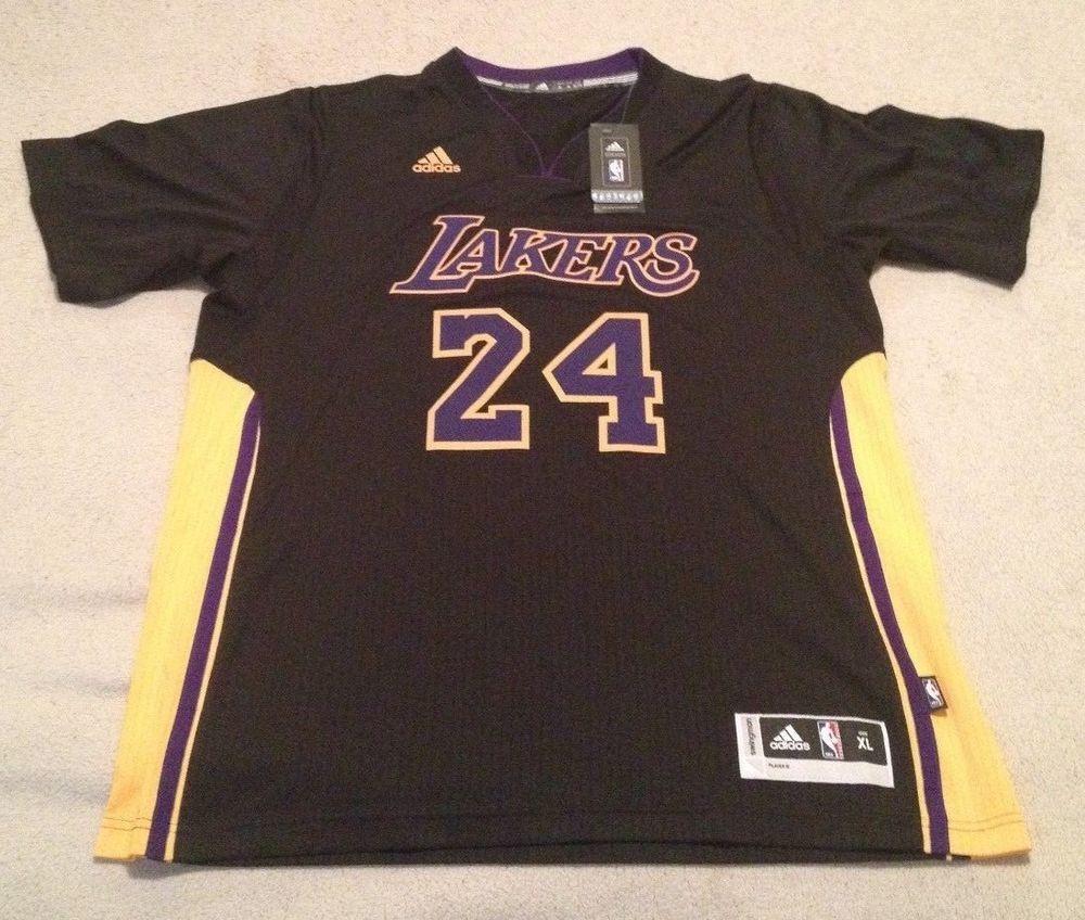 best loved b1655 9741c Adidas Kobe Bryant Lakers Hollywood Nights Swingman Jersey ...