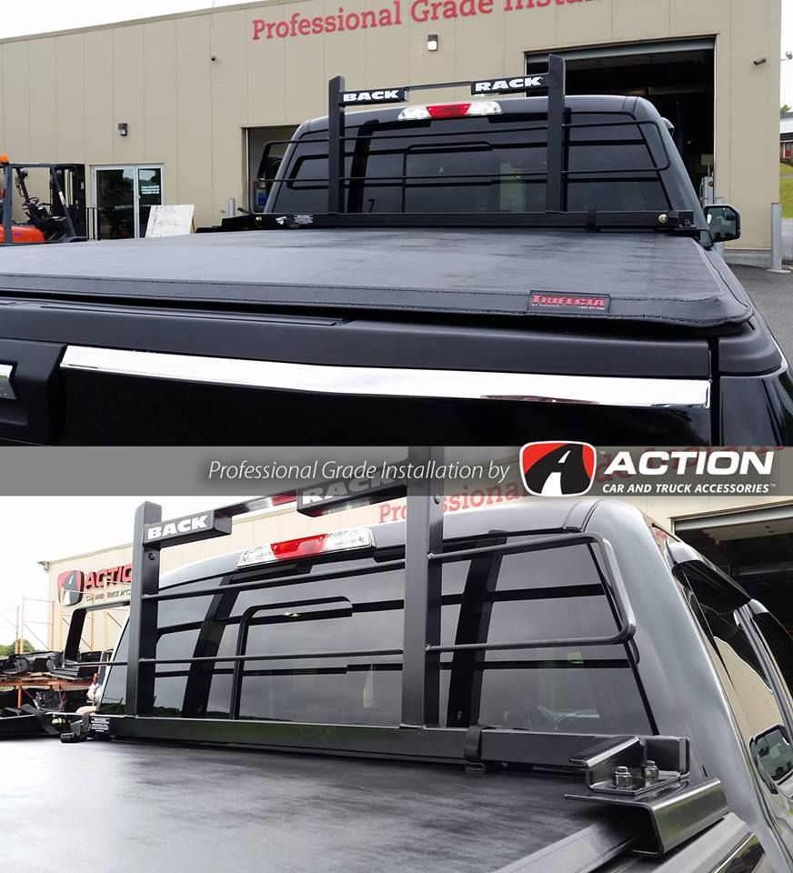 You can now have a BackRack and a Trifecta Tri-fold soft tonneau cover on your truck* with the NEW adapter plates from Backrack Inc. Take a look at this one installed on a 2015 F150