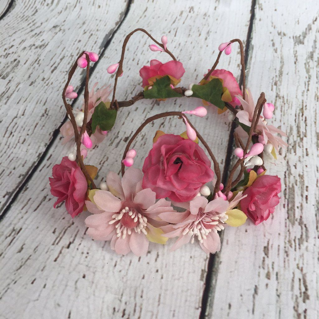 Baby woodland fairy flower crown perfect for fairy, whimsy ...