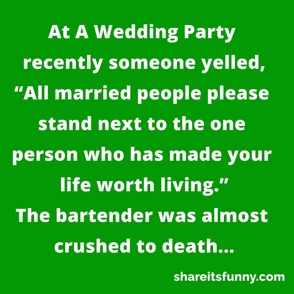 Wedding Party Joke Wedding Jokes Wedding Humor Party Jokes