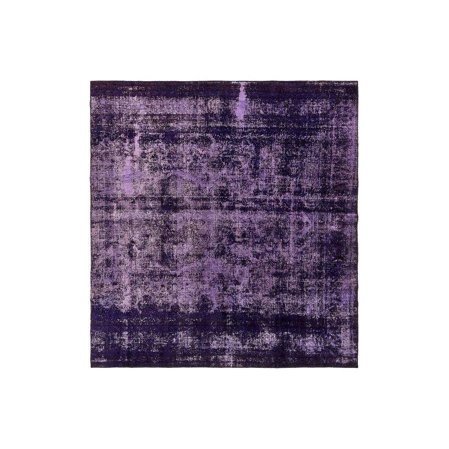 One Of A Kind Sela Vintage Persian Hand Woven Wool Violet Oriental Area Rug Purple Area Rugs Area Rugs Rugs