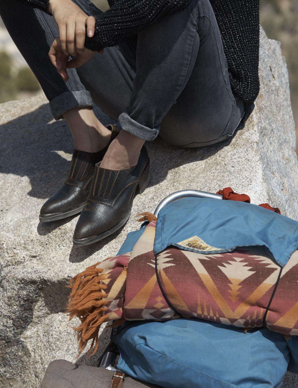 Vintage-style Hilfiger Denim shoes are blazing a trail this season.