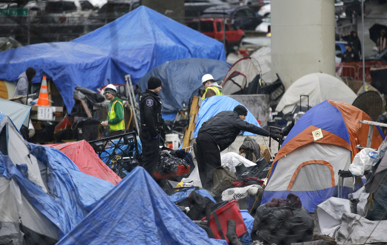 Seattle S Inconvenient Truth On Homelessness And Spending The Seattle Times Homeless Seattle The Past