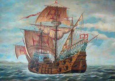 Znalezione obrazy dla zapytania portugal armada battle diu
